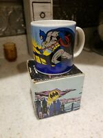 Vintage Batman Mug, by applause, 1989