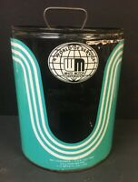 White Motor Corporation  5 Gallon Bucket Can Grease Vintage Advertising Gas Oil