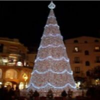 Northlight 9.8' Pre-Lit Commercial Grade LED Christmas Cone Tree