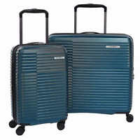 Samsonite Stack-It Glider 2-piece Hardside Luggage Set Color Teal