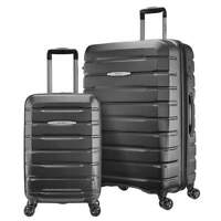 USED Samsonite Tech 2.0 2-Piece Hardside Luggage Set GREY (27