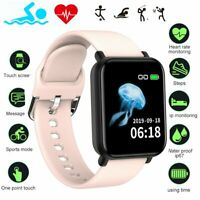 Touch Smart Watch Women Men Heart Rate Bracelet For iPhone Android Waterproof US $18.99
