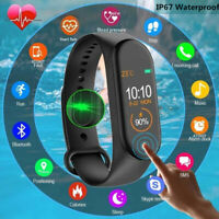 M4 Smart Band Watch Bracelet Blood Pressure Heart Rate Wristband Fitness Tracker $6.79