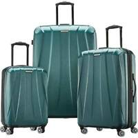 Samsonite Spinner Suitcase Set 3 Piece Emerald Green