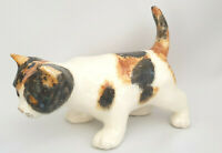 **Winstanley Pottery Size 3 Standing Cat Glass Eyes Signed Purrfect**