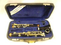 BUFFET CRAMPON PARIS PRO R13 A WOOD CLARINET NICKEL SILVER KEYS GOOD PADS RARE
