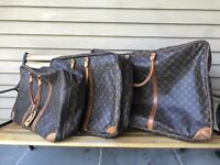 Louis Vuitton Soft Side Luggage Set