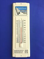 VINTAGE  WALKER MUFFLERS  GAS STATION  THERMOMETER  SIGN  SPRINGFIELD MA  AUTO