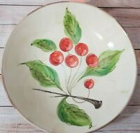 Vietri Bowl Cherries Large Fruit Serving Bowl 12.75quot; Made in Italy