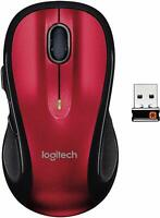 Logitech Control Plus M510 Red Wireless Mouse 24 Month Battery Life $23.99