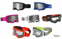 Fox Racing 2021 Adult Main Clear Lens Goggles CHOOSE YOUR COLOR MX ATV UTV MTB