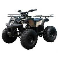 2020 Tao Tao T force ATV 125cc gas with big wider amp; rugged tires off road 💕