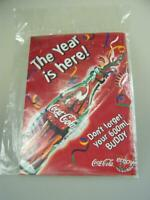Coke Coca Cola cardboard sign quot;The year is here Don#x27;t forget your 600ml buddyquot;