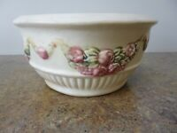 Antique Weller Roma bowl 100 years old 6 inches excellent condition