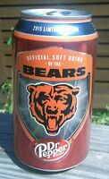 1 Full Dr Pepper CAN Official Soft Drink Of The Chicago Bears 2015 id: a