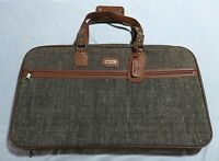 VINTAGE 1980's Samsonite Suitcase Carry On Luggage Soft Sided With Original Box