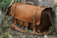 Goat Leather Genuine Travel Men Gym Bag Luggage Brown New Duffel Vintage S New