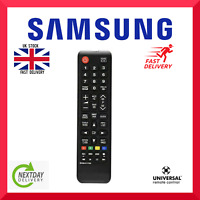 😍UNIVERSAL SAMSUNG TV REMOTE CONTROL REPLACEMENT WORK MOST SAMSUNG TV MODELS GBP 3.59