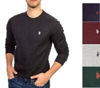 U.S. Polo Assn. Men#x27;s Long Sleeve Crew Neck Solid Thermal Shirt