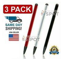 2 in 1 Touch Screen Pen Stylus Universal For iPhone iPad Samsung Tablet Phone PC $3.69