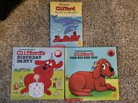 3 CLIFFORD BOOKS NORMAN BRIDWELL THE BIG RED DOG SCHOLASTIC $7.99