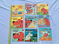 lot of 9 clifford the big red dog books $17.00