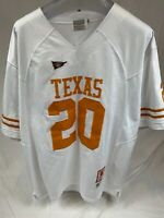 Texas Longhorns #20 Campbell Gridiron Greats Size 56 Jersey Pre Owned