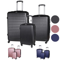 New Suitcase Lightweight Luggage With Spinner Wheels 3 Piece Set 20quot; 24quot; 28quot;