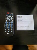 RCA Universal Remote Control for TV VCR DVD amp; Cable in Black $4.00