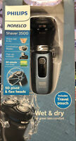 Philips Norelco 3500 Cordless Battery Powered Electric Shaver NEW $35.00