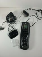 Logitech Harmony 900 Remote Control IR Blasters and extra battery working $67.96