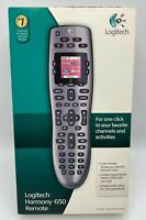 Logitech Harmony 650 Remote Control Silver Controls 5 Devices NEW SEALED $154.95