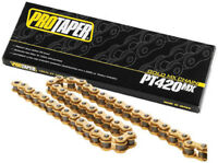 ProTaper Motorcycle ATV Gold Chain 420 Pitch 134 Links 023101 02-3101