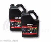 Yamalube All Purpose 2 Stroke Motorcycle ATV Snowmobile Oil 2-S 2 Gallons