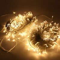 328Ft 500LED String Fairy Lights Christmas Wedding Party LED Light Warm White