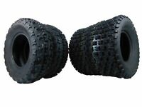 21X7-10 & 20X10-9 ATV TIRE SET (All 4 Tires) HONDA TRX 250R 250X 250EX TRX450ER