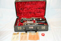 VINTAGE NORMANDY CLARINET WITH BRUNO ROYAL CLEAR MOUTHPIECE AND LEBLANC CASE