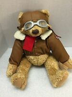 Texaco Five Teddy Bear Brown 11inches Tall Second Edition 98'