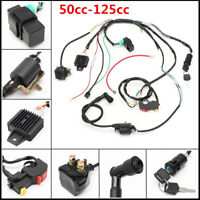 50cc-125cc CDI Wire Harness Stator Assembly Wiring Chinese ATV Electric Quad Kit