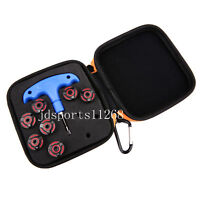 7pcs/set Opti Fit Golf Weights For Callaway RAZR FIT OptiFit Driver +wrench+case