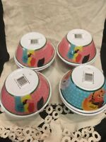 2016 SET OF 8 KELLOGGS CEREAL BOWLS COLLECTIBLE!!