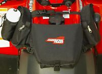 American Trails - ATV Saddle Bag Black - Tank Bag Front Accessories Stora... New