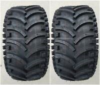 2 - (PAIR) 22x11.00-8 D930 ATV Stryker Tires DS7341 22x11-8 22/11-8 Free Ship