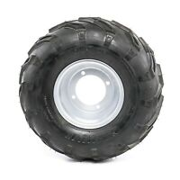 Chinese ATV Tire Rim Wheel Assembly - 16x8-7 - 4 Bolt -  Front Rear tire 7 inch