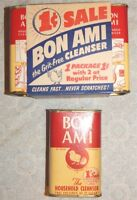 Vintage Double Bon Ami Household Cleaning Powder