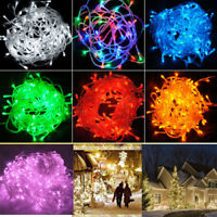 100/200/300 LED Indoor/Outdoor Xmas Tree/Party/Show/Christmas Fairy String Light