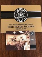Starbucks Card 2002 Pike Place Original with Sleeve New MINT Condition RARE