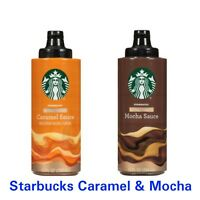 Starbucks Caramel amp; Mocha Sauce Naturally Flavored 12 Oz Bottle Fast EXP OCT 20