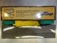 Calcutta Kayak Car Top Carrier BR52249 - NEW