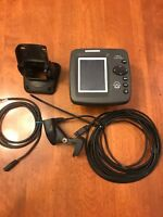 Humminbird 343C Color Fishfinder Bundle w/Transducer Mount & Cables